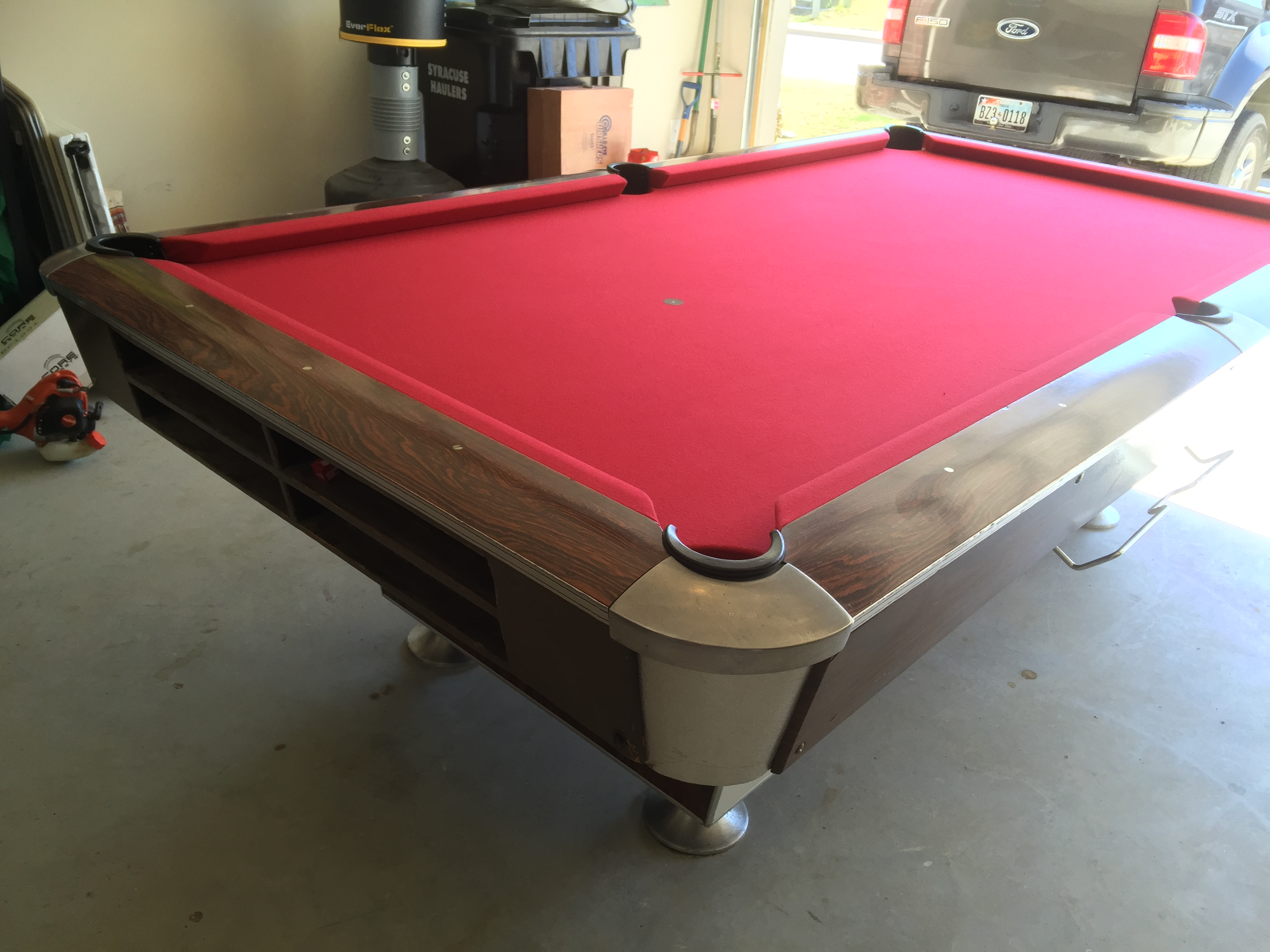 Topline Commercial 8 Foot Pool Table   $1,695   On Sale For $1,595