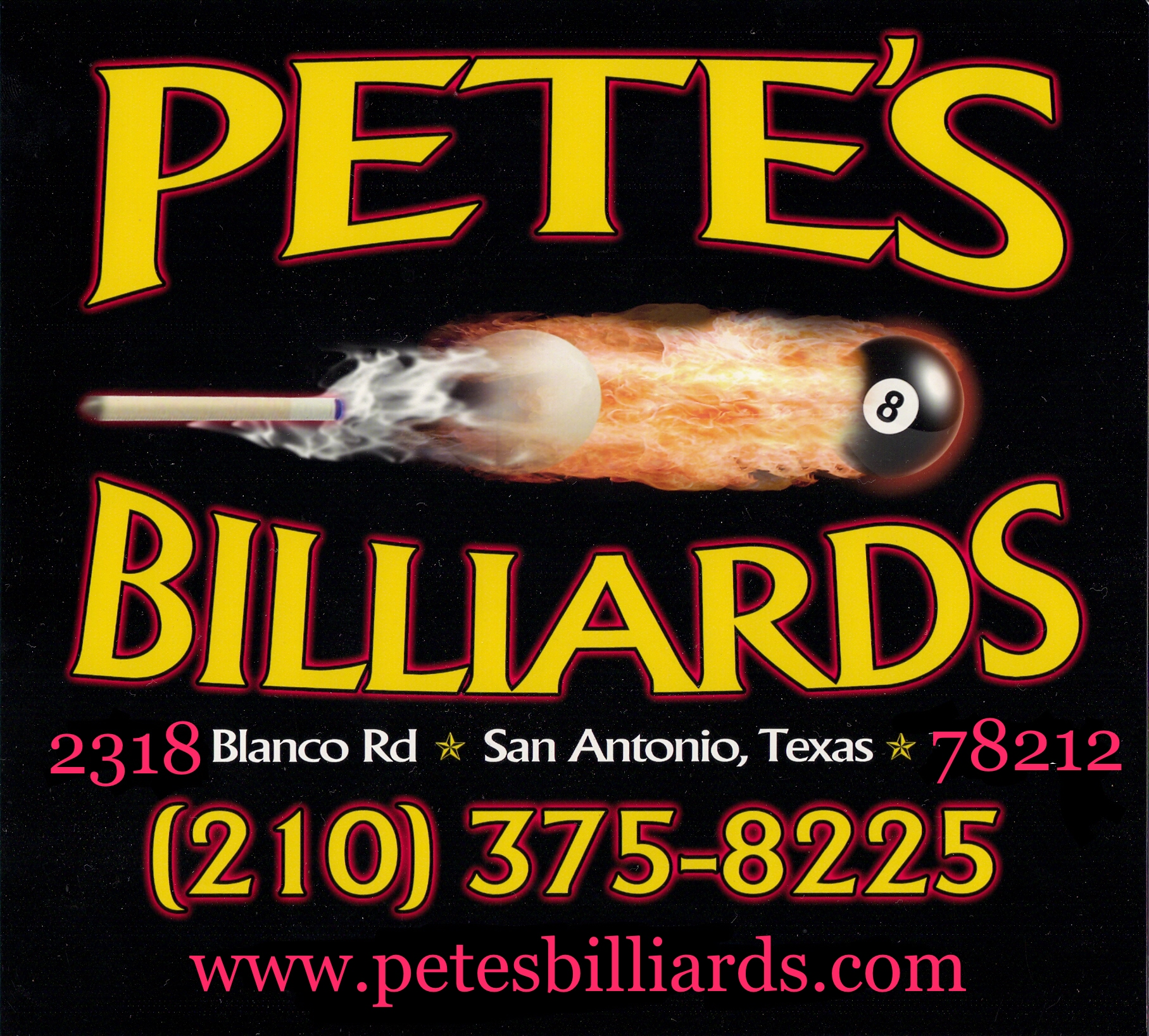 Petes Billiards Pool Table Repair Cue Repair Dart - Pool table movers austin tx